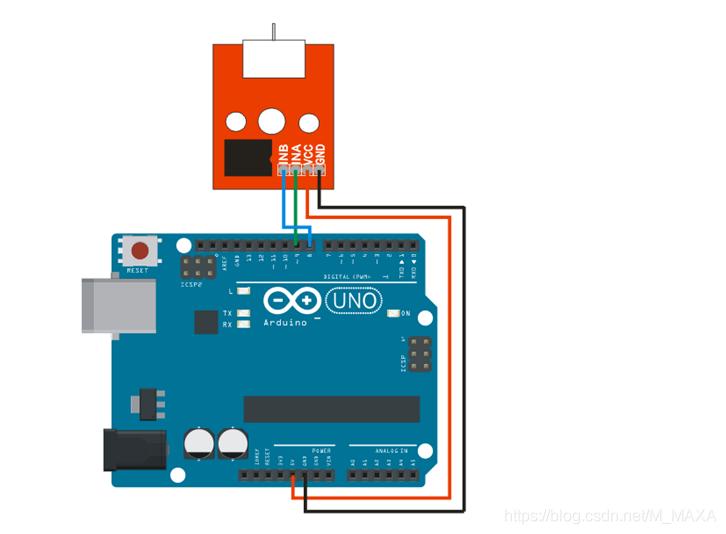 用Arduino实现DHT11自动控制L9110电机风扇MMAXA的博客-