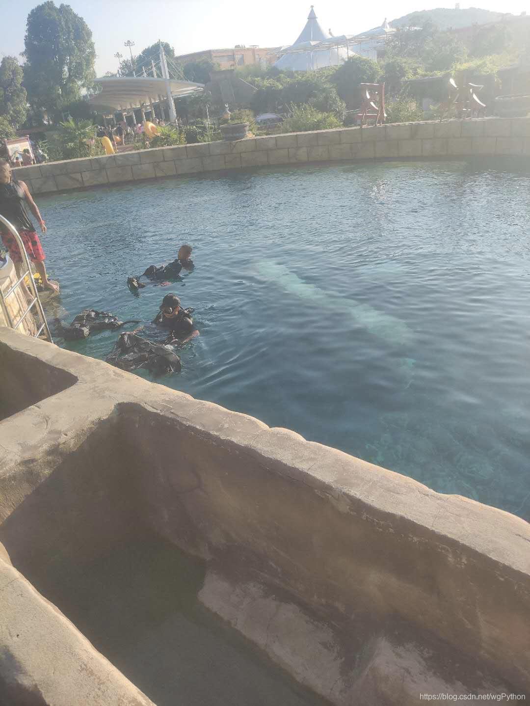 5米潜水池