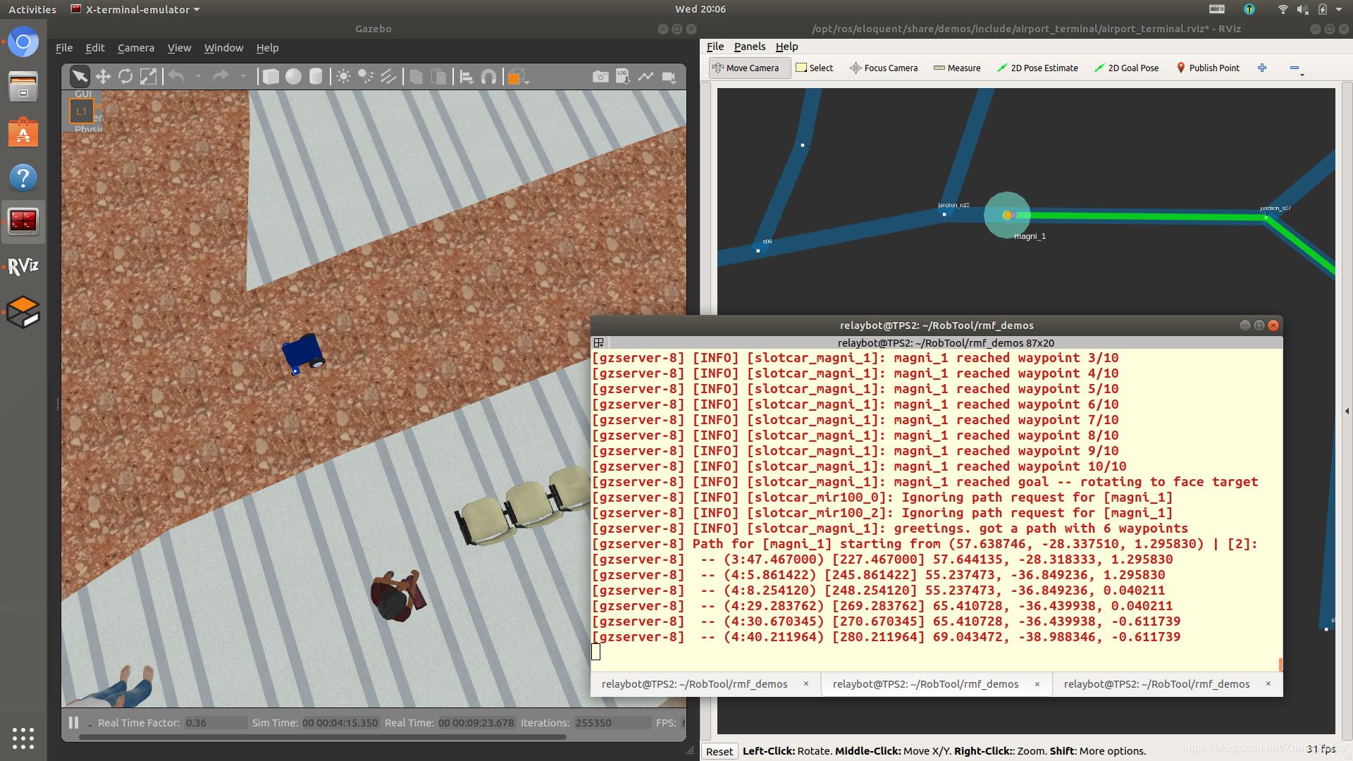 使用ROS2机器人操作系统进行多机器人编程技术实践(Multi-Robot Programming Via ROS2 )插图