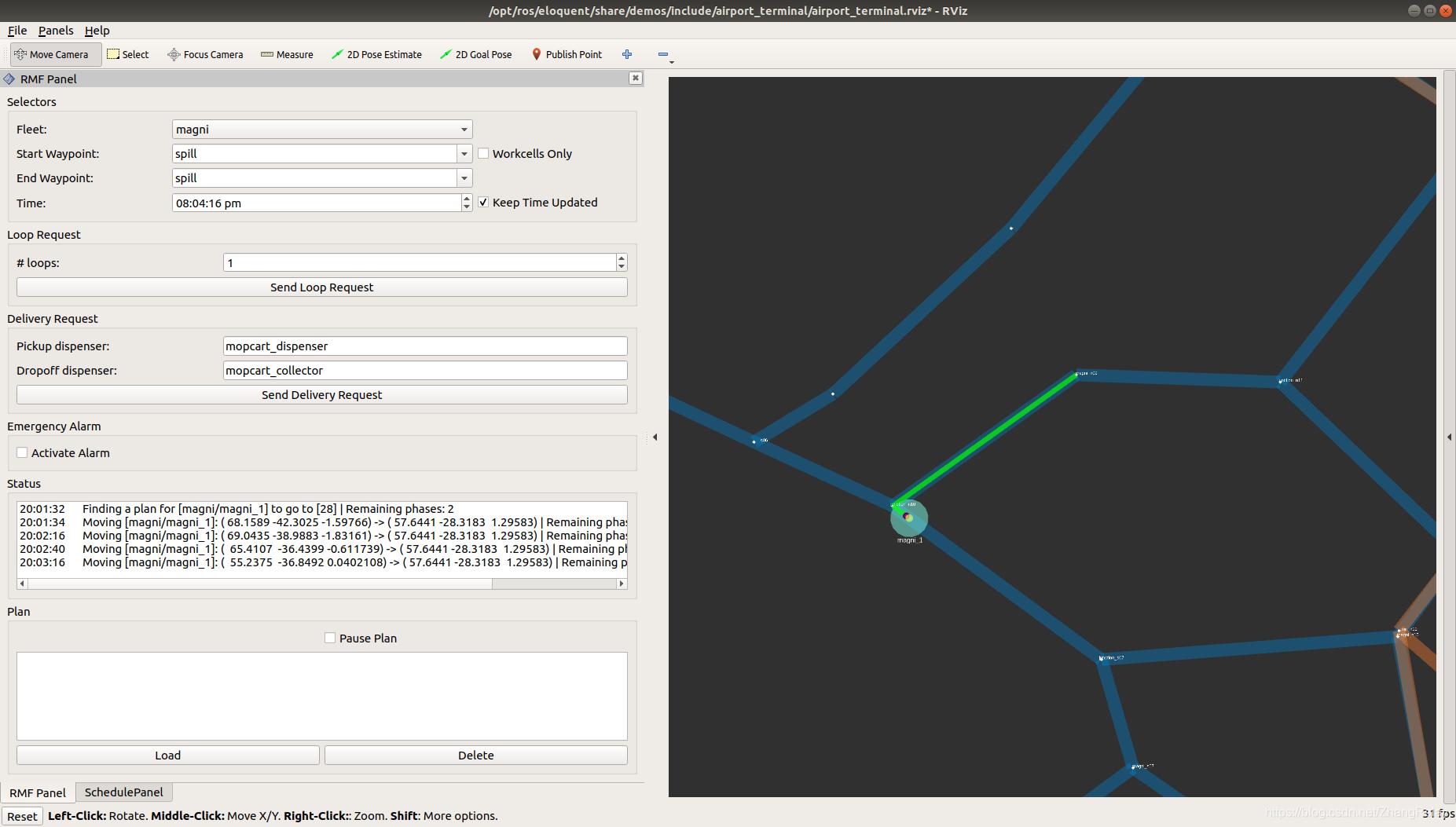 使用ROS2机器人操作系统进行多机器人编程技术实践(Multi-Robot Programming Via ROS2 )插图(8)