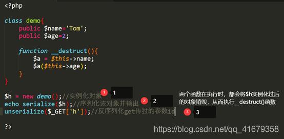 PHP反序列化漏洞原理及示例-行云博客