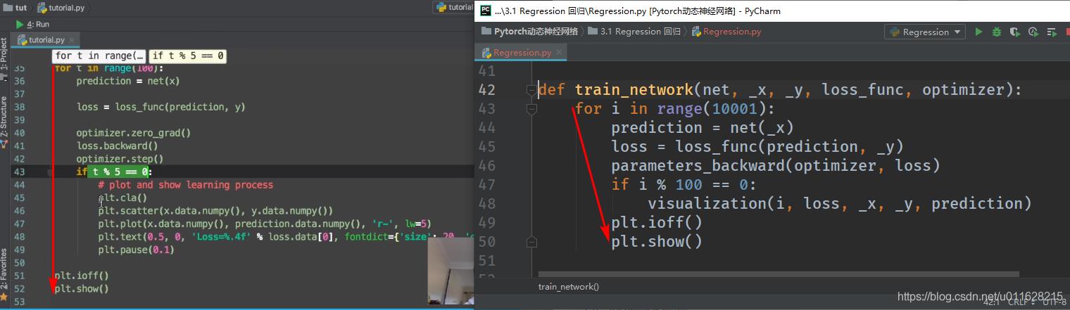 图2 函数缩进出错