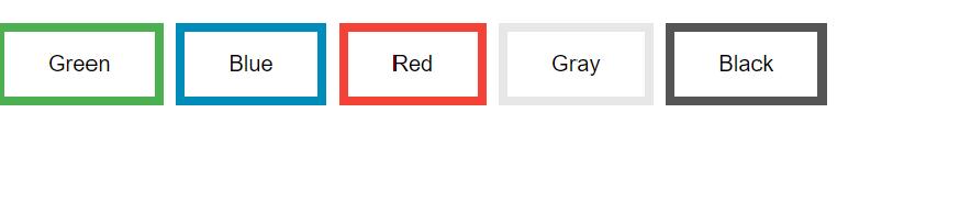 按钮边框颜色