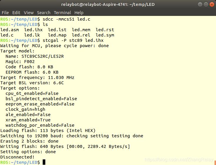 51单片机在Ubuntu下程序开发和下载插图(2)