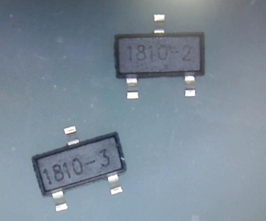▲ TM1810-2,-3不同的芯片刻字
