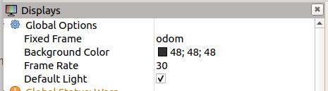 修改对齐frame_id的odom