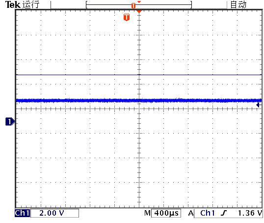 ▲ 测量TM1810工作电压波形