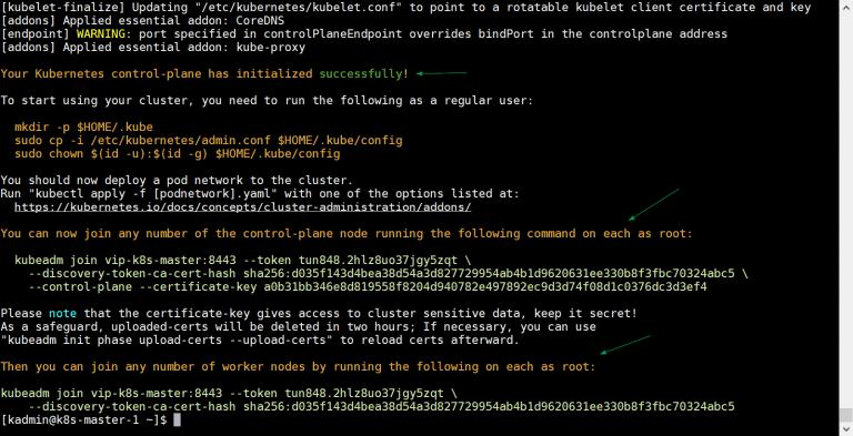 如何使用Kubeadm设置高可用性Kubernetes集群插图(5)