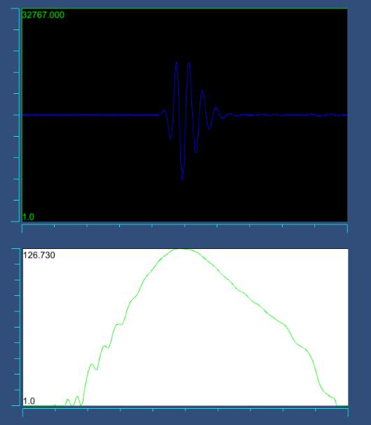 5MHz探头频谱图