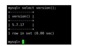 MySql数据库基本操作(一)