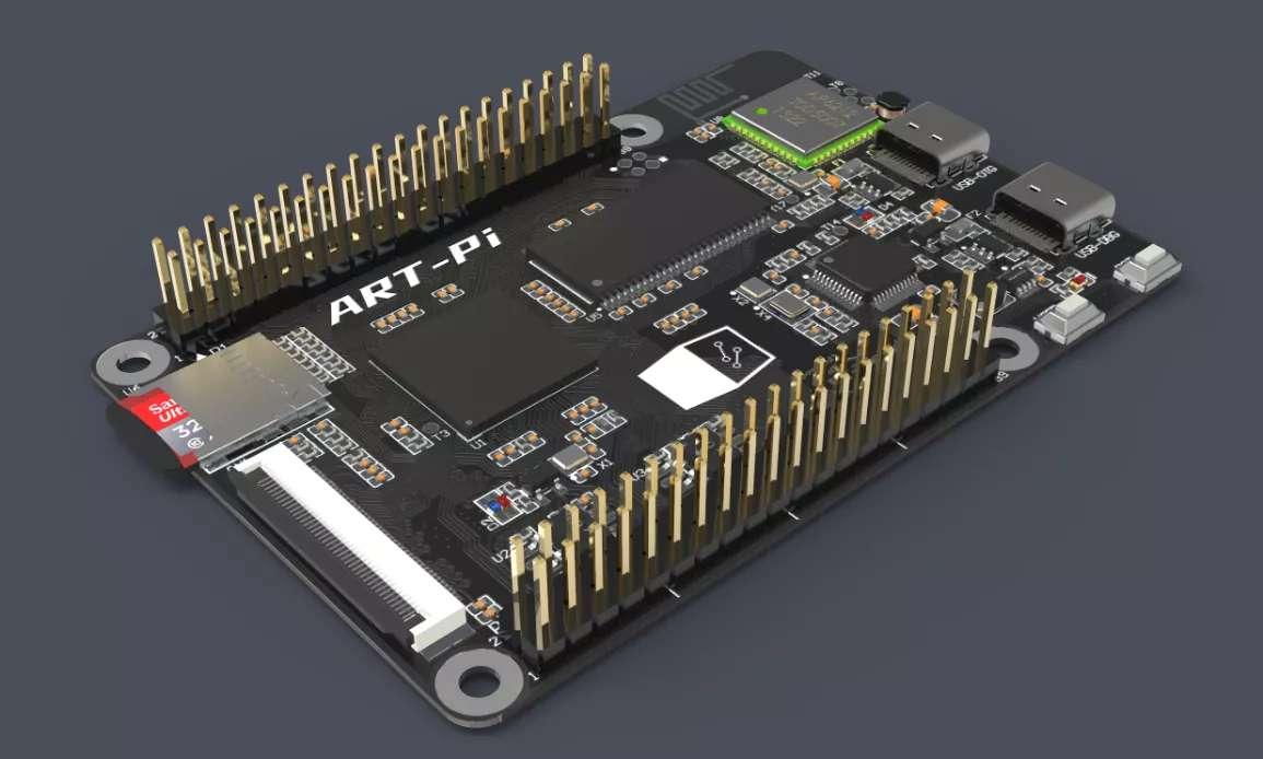 在ART-Pi H750上移植TouchGFX(一)——使用STM32CUBMX生成TouchGFX工程