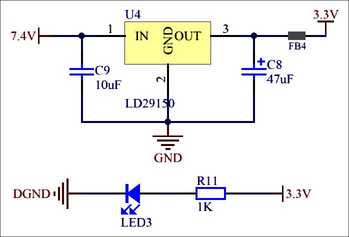 ▲ 图3.2.2 电压转换电路