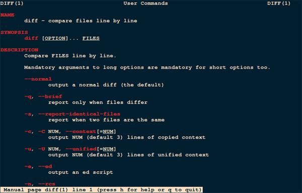 9款最佳的Linux文件比较工具插图(1)
