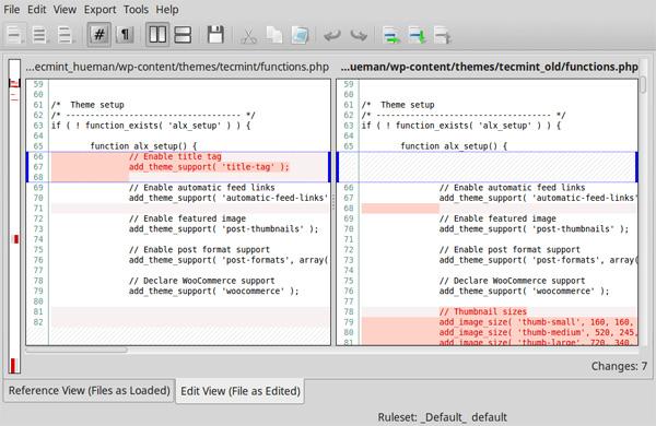 9款最佳的Linux文件比较工具插图(4)
