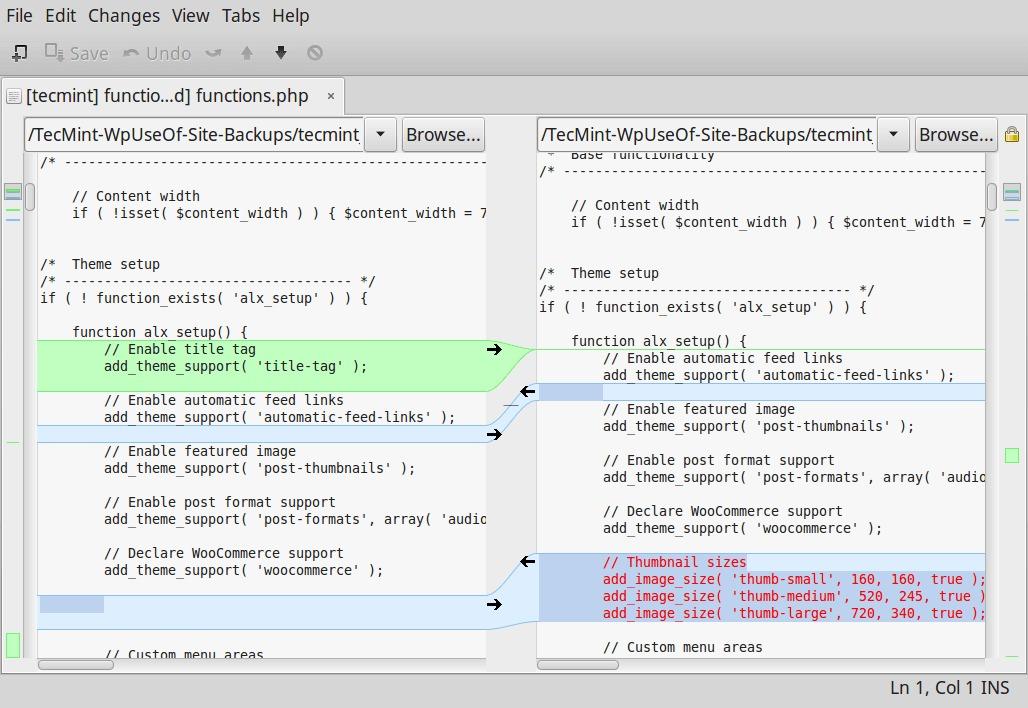 9款最佳的Linux文件比较工具插图(5)