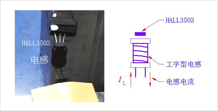 ▲ 测量电感的示意图