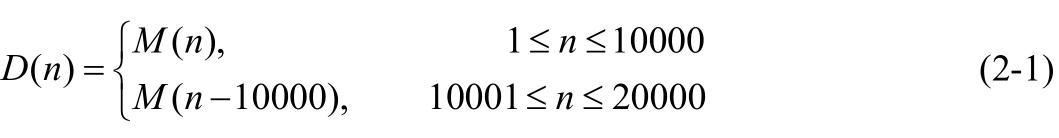 重复编码后序列