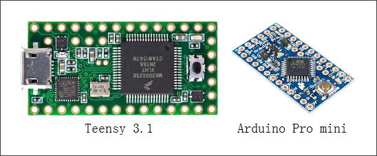 ▲ 通讯使用时的MCU模块