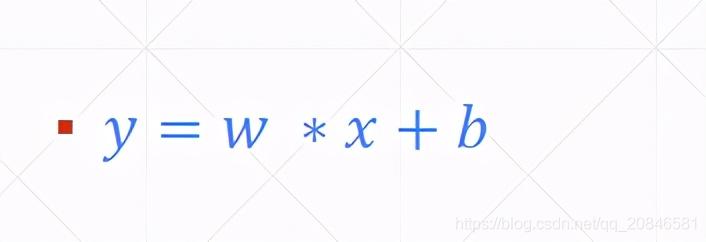 图1 线性模型公式