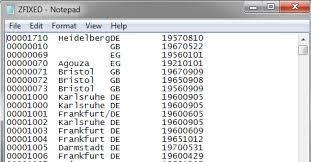 data file fixed