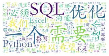 data web boss wordcloud second