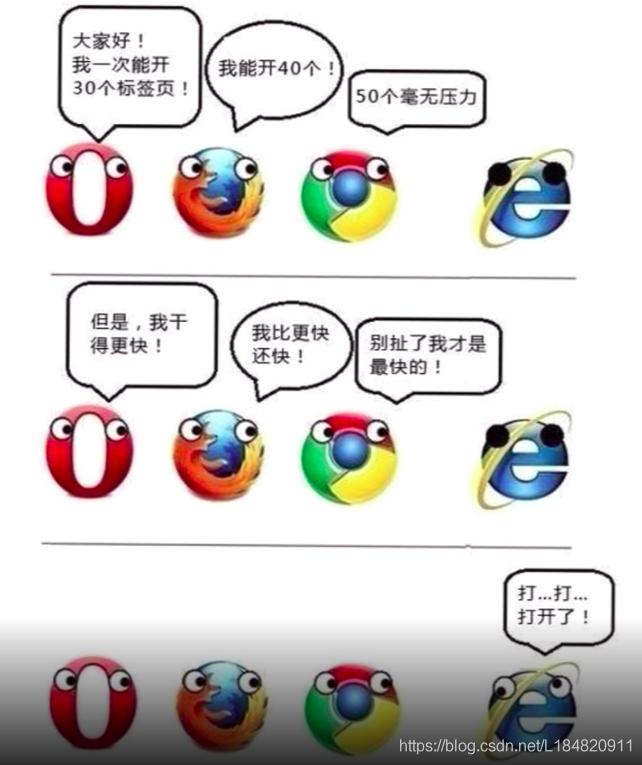 浏览器的趣味对话