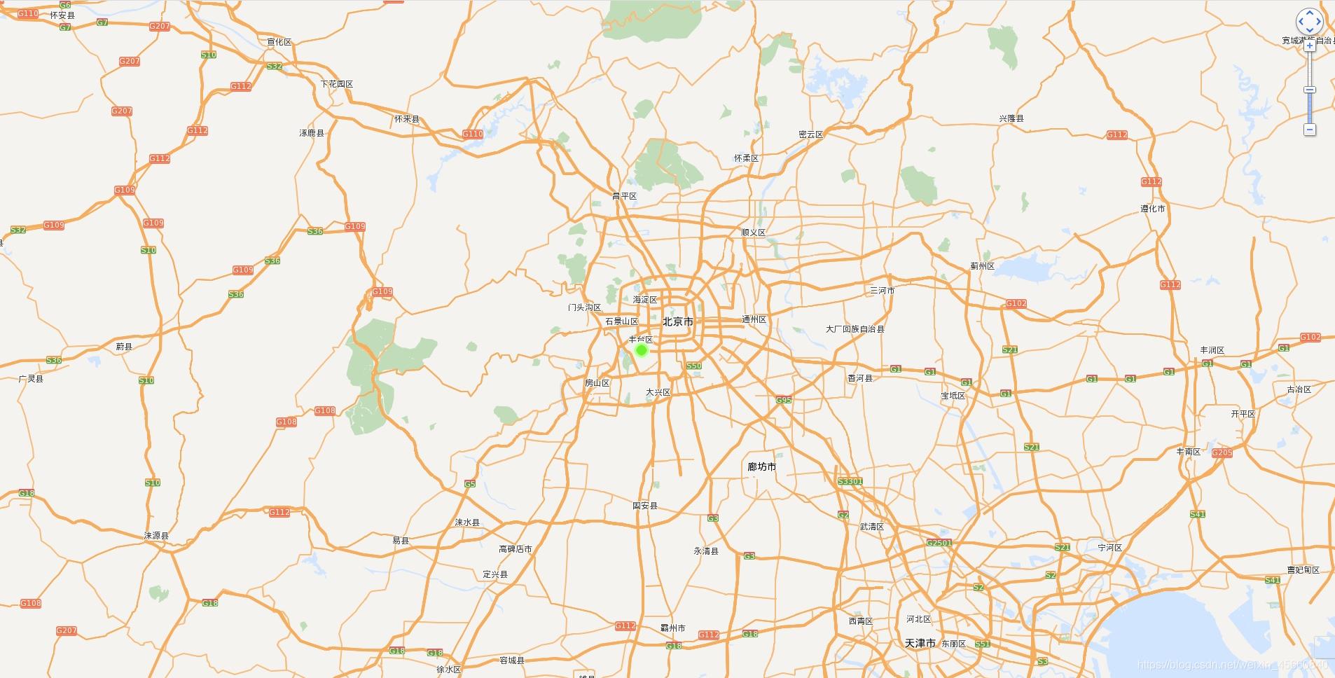 地图展示及标记点
