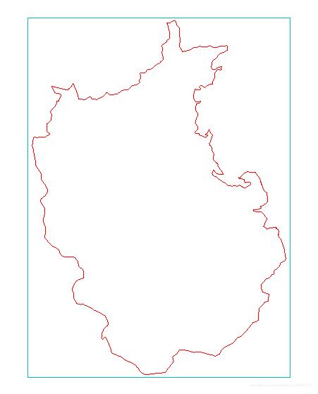 为本乡的矢量边界图