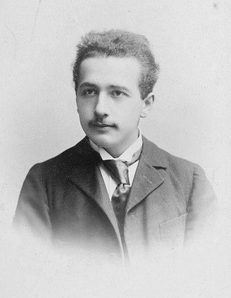 ▲ 年轻时的爱因斯坦