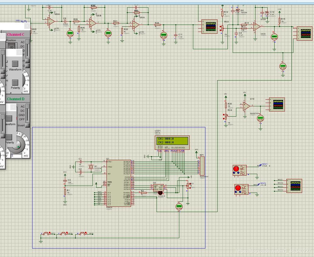 整体仿真效果图,我这是加了其他模块,使用的话可以自行修改