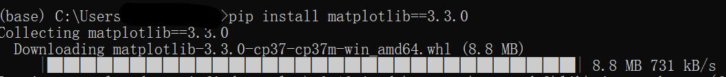 下载matplotlib