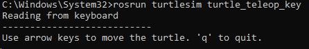 启动键盘控制节点