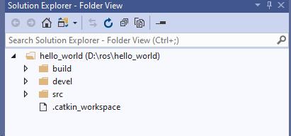 vs 文件夹状态
