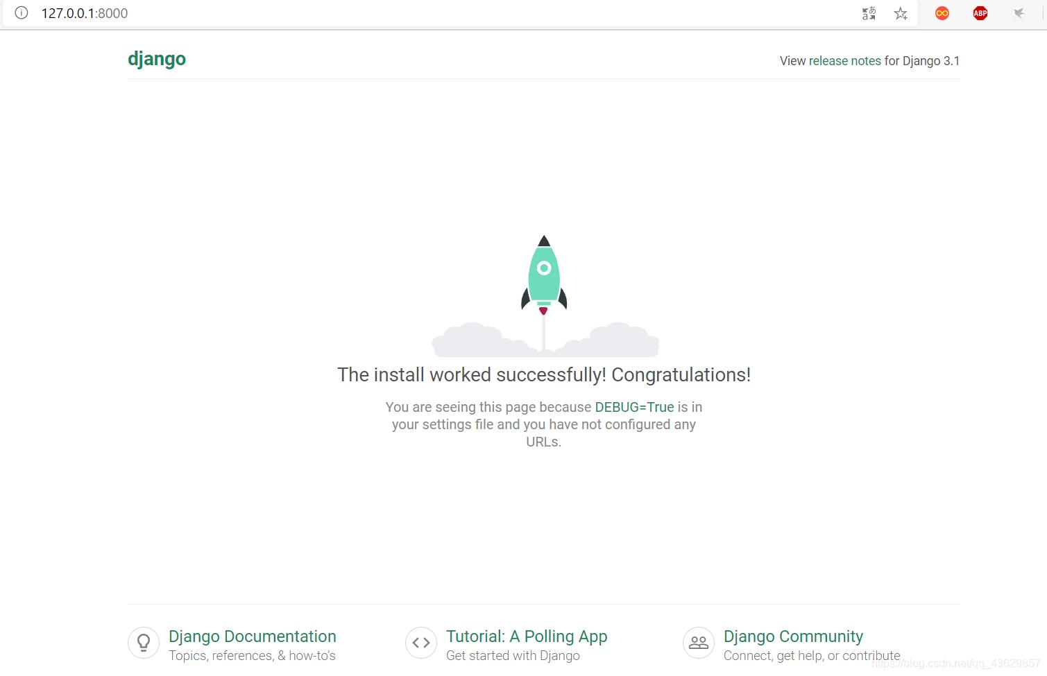 Django项目首页图