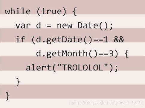 我们在尝试给代码段加上斑马条纹时走出的第一步
