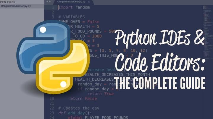 新手学 python 选什么编辑器比较好呢?插图