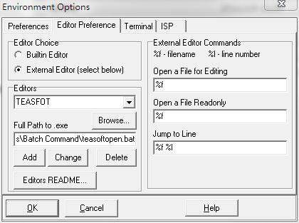 ▲ 加入的新的编辑器的设置