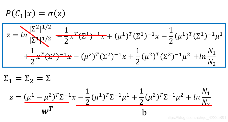 w和b的计算公式