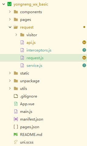 uniapp 请求封装,拦截器:请求拦截、响应拦截