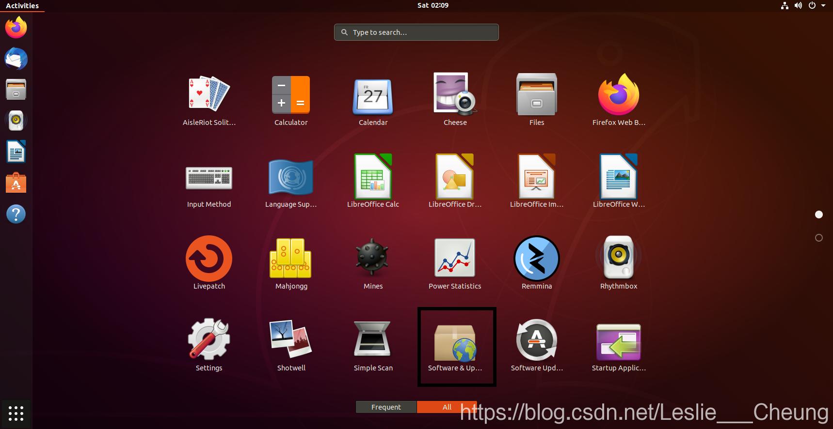 Ubuntu  softwave & update