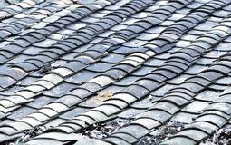 """中国农村地区""""瓦式""""屋顶1"""