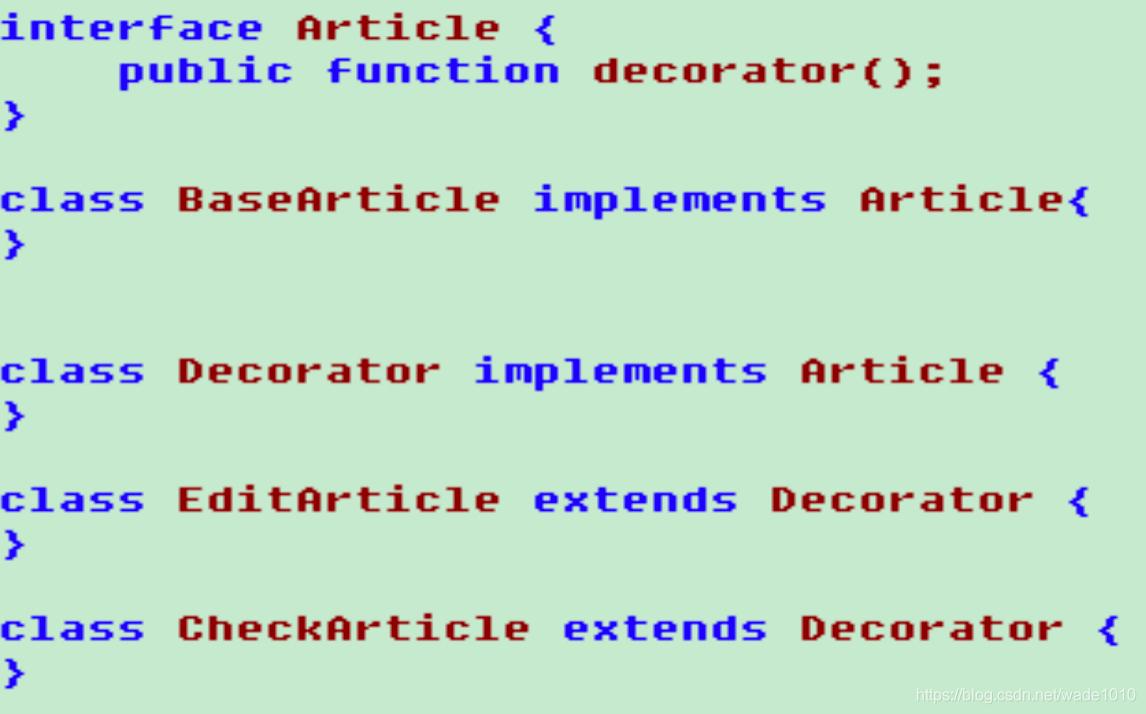 設計模式學習