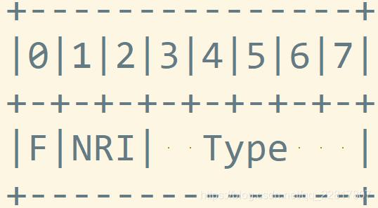 h264第一个字节