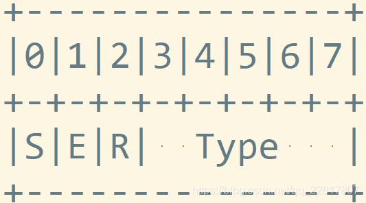 h264第二个字节