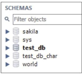 默认的数据库效果