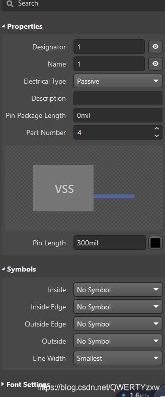 按照芯片引脚图,补全引脚标识