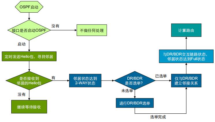 OSPF工作原理