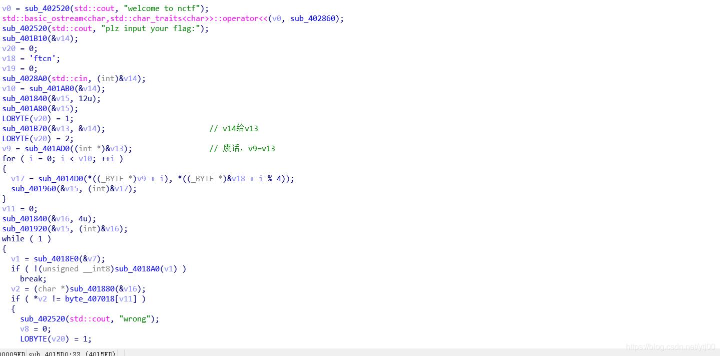 [外链图片转存失败,源站可能有防盗链机制,建议将图片保存下来直接上传(img-XccwCUG3-1606498617853)(H:\火狐下载\nctf2020\1.png)]