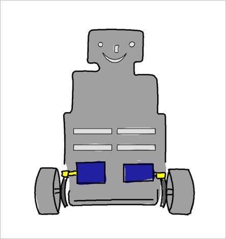 ▲ E 型车模