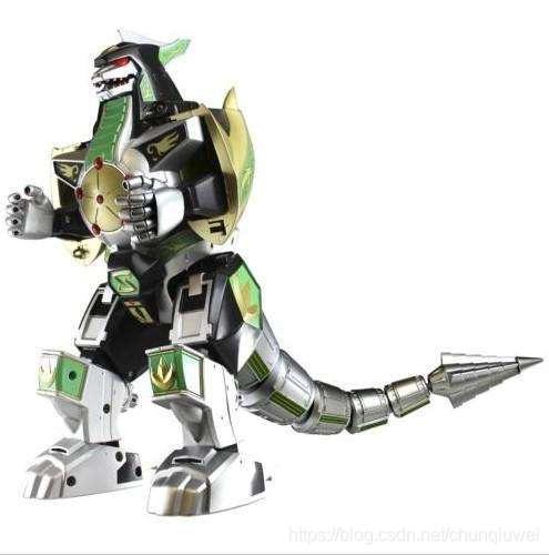 恐龙战队队员组成的机器人